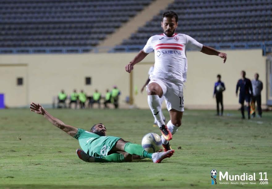 Zamalek Club and Al Sharqia Club