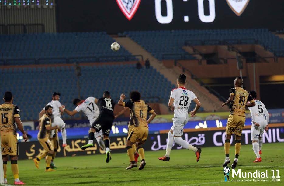 Al-Anj Al-Harbi Club and Zamalek Club