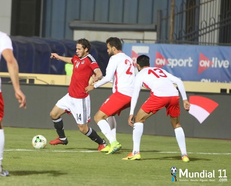Egypt team and Tunisia team