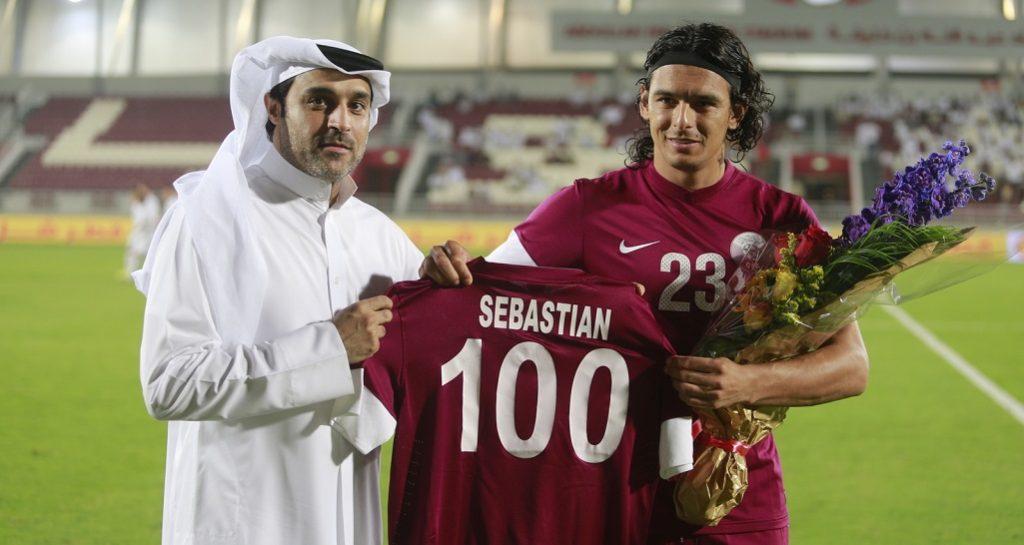 سيباستيان سوريا أكثر لاعب يسجل في كل الدوريات العربية
